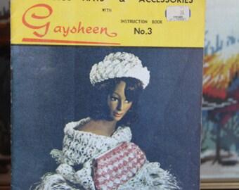 Vintage GAYSHEEN Crochet Bag Patterns -Book No 3