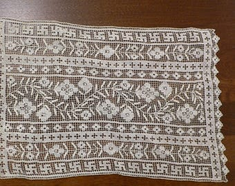 Small Hand made Lace Doilie