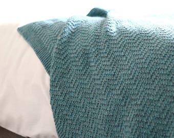 KNITTING PATTERN, Knit Blanket Pattern, Knit Throw Pattern, Baby Blanket Pattern, Knit Baby Blanket, Knit Afghan Pattern, Blanket, Afghan