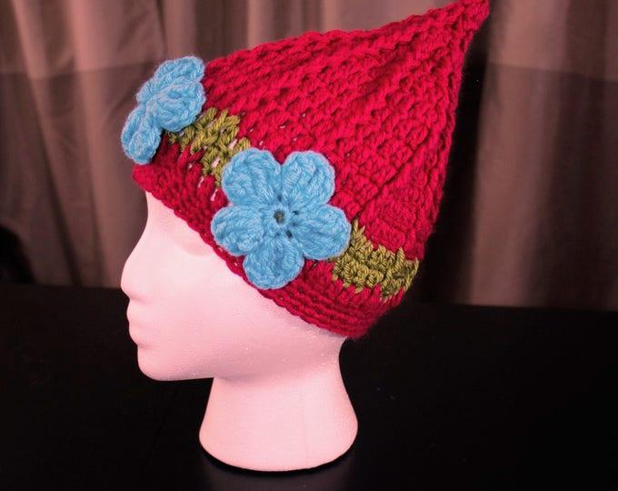 Crochet Troll Hat - Poppy & Branch