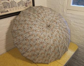 Gorgeous 1950s Umbrella