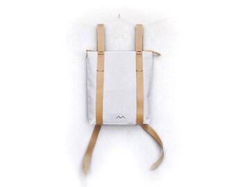 Backpack purse, lightweight rucksack, womens backpack, daily backpack, simple backpack, minimalist backpack, custom canvas daypack 101