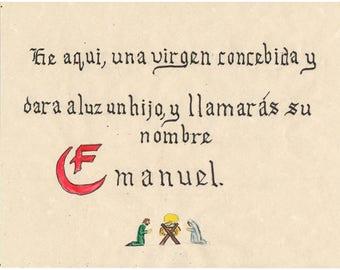 Emanuel, Espanol