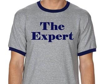 The Expert Barron Trump Shirt, Barron Trump Apparel, Ringer shirt