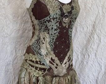 Alternative Wedding Dress Gypsy Wedding Dress Unique Wedding