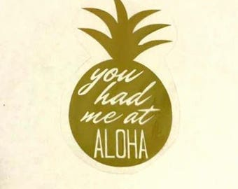 You had me at ALOHA onesie