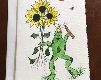Hand Painted Greeting/Note Card
