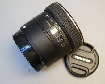 Tokina AT-X Pro 35mm f2.8 Macro lens for Canon EOS Mount