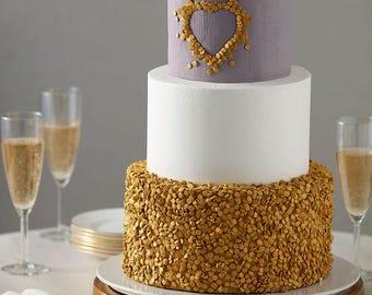 Edible Gold Cake Sequins/Edible Gold Cake Buttons/Edible Gold Glitter Sequins/Edible Gold Cake Jewels