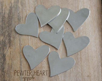 UPGRADE ONLY Pewter Heart by mothercuffer