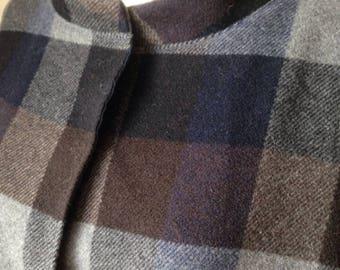 """beautiful kimono coat/jacket in wool """"tartan"""""""