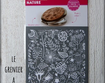 """Stenciled polymer """"NATURE"""""""