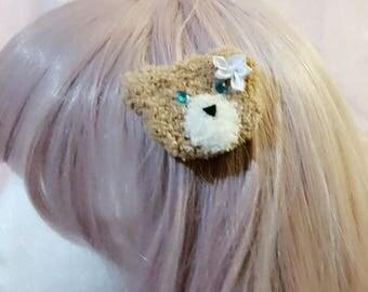 Little bear hairclip