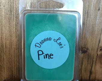 Pine soy wax melts, pine wax melts, outdoor wax tarts, wax tarts, wax melts, scented soy tarts, candle melts, flameless candle, soy wax melt