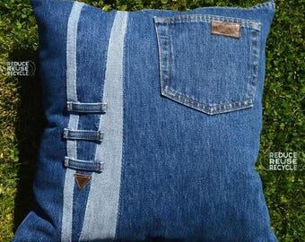 Denim Pillow16 x17 inches