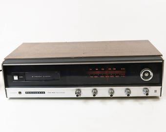Vtg Panasonic RE-7800 8-Track Player Stereo AM FM Multiplex - Works