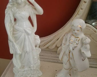 Beautiful French Country Figurines