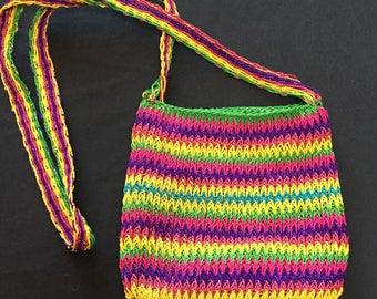 Amazonian woven Chabira purse