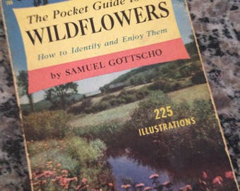 The Pocket Guide to Wildflowers by Samuel Gottscho 1951 Paperback