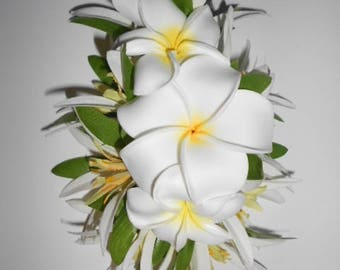 exquisite silk floral headpieces handcrafted von hawaiianhairlooms