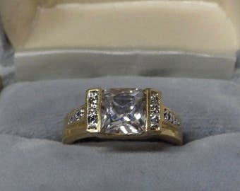 Gold Plated Ring Size 8.5
