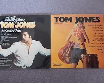 Tom Jones double LP and Tom Jones sung by Danny Street LP