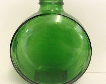 Vintage Sunsweet green bottle/ jar