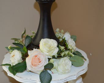 candle rings, lantern rings, centerpieces, wedding centerpiece, lantern centerpiece, reception centerpiece,