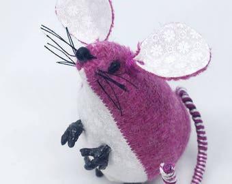 Harris Tweed Mouse, tweed mice
