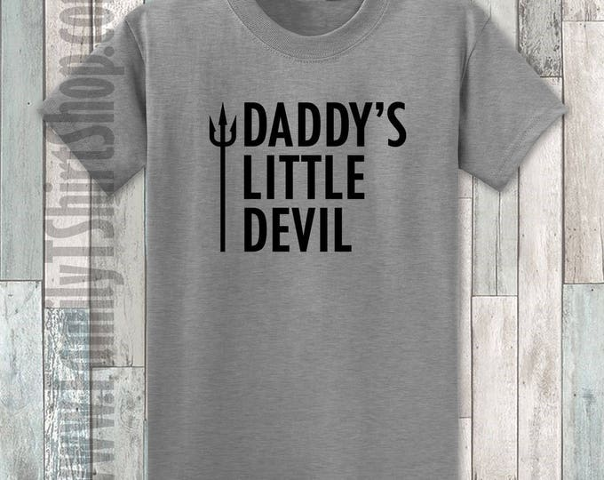 Daddy's Little Devil T-shirt
