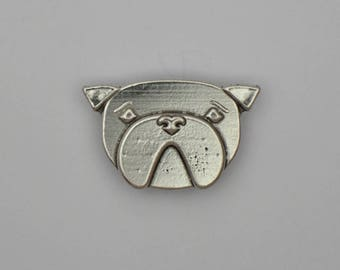 Pickles the Dog, pewter magnet