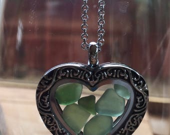 Beautiful, Scottish Sea Glass Necklace N11.4.16.3