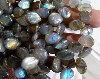 Labradorite 1 strand 10''  31, grams 7X9, 14X20 MM
