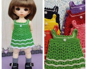 Crotched dress for  Pukifee (green)