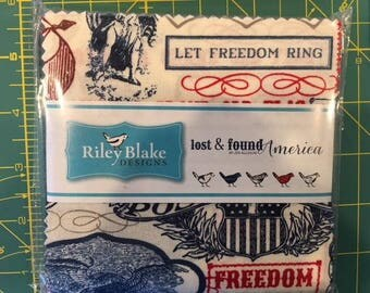 "Americana 5"" Stackers from Riley Blake Designs"