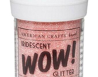 Glitter glitter WOW IRIDESCENT - SALMON color