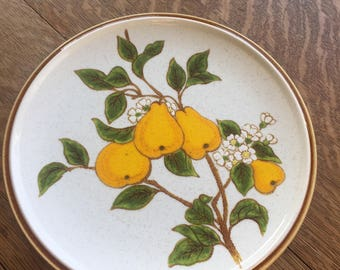 Mikasa Bountiful Pear Blossom Dinner Plate. C9001. Made in Japan