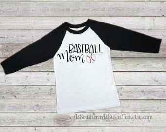 Baseball Mom T-shirt, baseball, mom shirt
