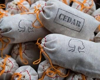 Cedar Sachet Bags (Set of 6)