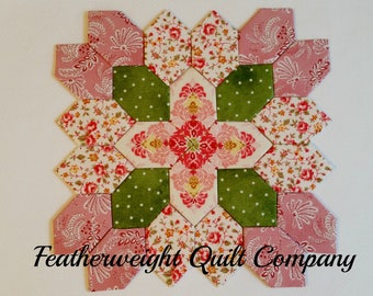 Patchwork of the Crosses Traditional Mystery Block # 01