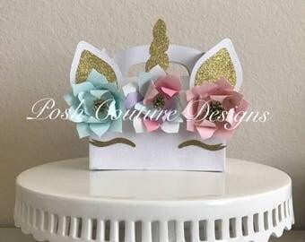 Unicorn Favor Box/ Unicorn Treat Box/ Unicorn Party/ Unicorn Gift Box/ Unicorn Goodie Bag/ Unicorn Treat Bag/ Unicorn Favor bag