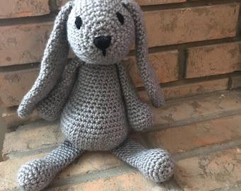 Bunny stuffed animal crochet amigurami knit