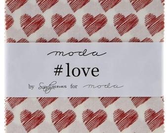 Love Charm Pack by Sandy Gervais for Moda Fabrics