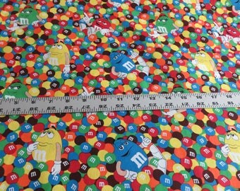 Mars M and M Friends cotton fabric - Springs Creative - sold by the yard