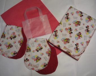 Cozy Flannel Baby Blanket - Minnie Mouse