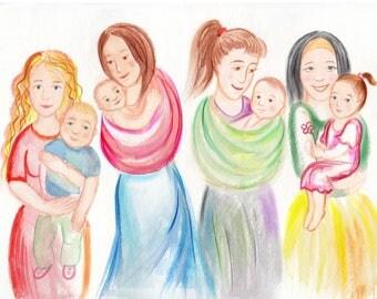 Children's book illustrations, children's book illustrator