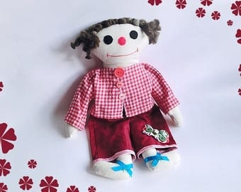 Little Asian - the Fabric Doll
