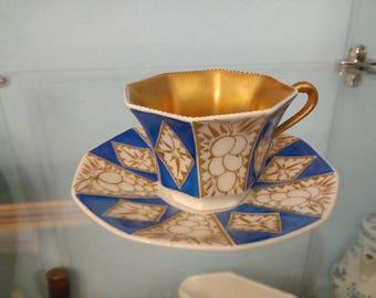 Mocha Mug Beautiful Mocha Cup Tirschenreuth 1950s