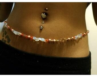 African waist beads belly beads