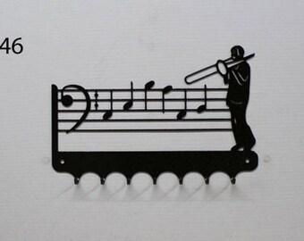 Hangs 26 cm pattern metal keys: slide trombone
